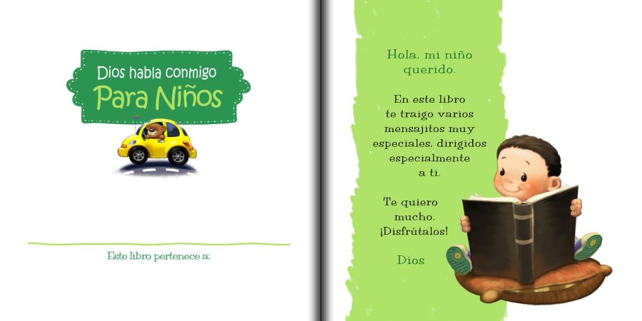 Dios habla conmigo, para niños   iCharacter en Español