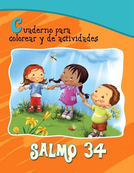 Salmo 34 - Cuaderno para colorear y de actividades
