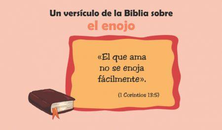 La Biblia y el enojo