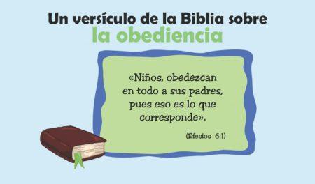 La Biblia y la obediencia para niños